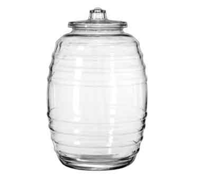 5 25 Gallon Barrel Canister Glass Candy Jar With Lid Jar