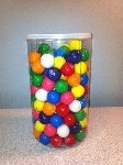 70 oz Round PVC Jars w/Snap-on Lids - 20ct