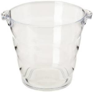 Clear Acrylic Ice Bucket Wine Display Champagne Bucket