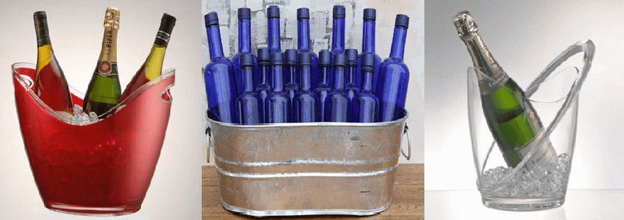 Event and Wedding Ice Buckets