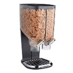 Black Double Cereal / Topping Dispenser