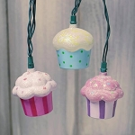 Cupcakes String Lights - 11ft