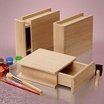 Drawer Wood Boxes - 6ct