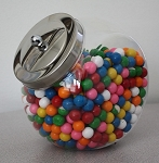 1/2 Gallon Acrylic Penny Candy Jars - 18ct