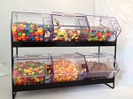 Jumbo Mini Bin Display Rack