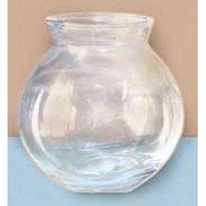 4 inch ivy glass fish bowl fishbowl miniature glass jar for Mini fish bowls
