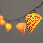 Pizza Slice String Lights 8.5ft