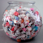 Plastic Candy Jars