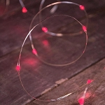 Red Fairy Moon Lights - 6' - 3ct