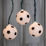 Soccer Ball String Lights - 11ft