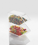 Classic Topping Dispenser - Stackable - Hinged Lid
