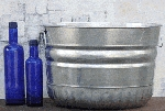 Steel Bushel Tub - 2ct