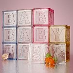 Baby Blocks Favor Boxes - 36ct