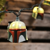 Boba Fett Star Wars String Lights 11ft
