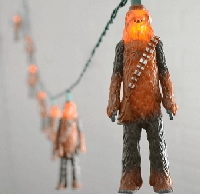 Chewbacca Star Wars String Lights 11.5ft