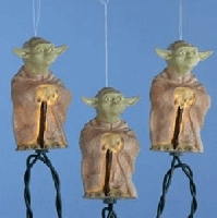 Master Yoda Star Wars String Lights 11ft