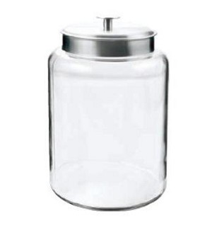 2.5 Gallon Montana Glass Jar w/Aluminum Lid