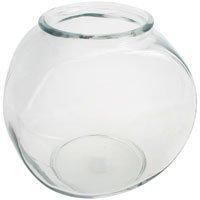 1 Gallon Glass Drum Style Fish Bowls - 12ct