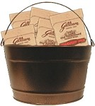 16 Quart Colored Metal Buckets - 4 ct