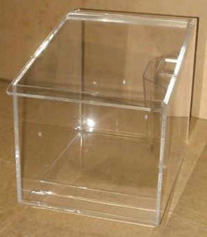 Clear Acrylic Candy Dispenser Candy Bin Candy Container