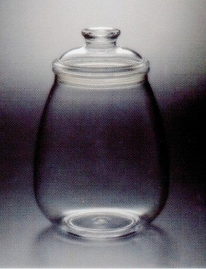 133 oz Eggplant Shaped Candy Jars - 12ct