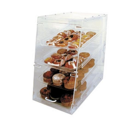 Pastry Tray Case Acrylic Bakery Display Bagel Trays