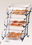 3 Tier Wire Display w/Round Nose Bins