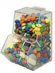 8.5oz Double Decker Mini Candy Bin - 12ct