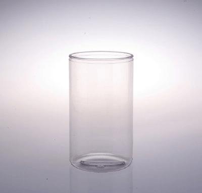 70 Oz Round Pvc Jars W Snap On Lids Plastic Jar W Lid