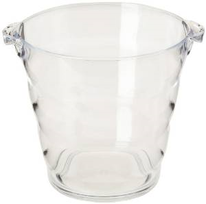 Clear Acrylic Ice Bucket Wine Display Champagne Bucket