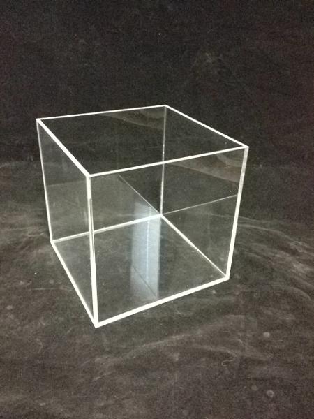 Square Acrylic Display Bin 6 Inch