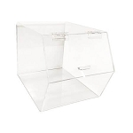 Acrylic Food Bin-Hinged Lid