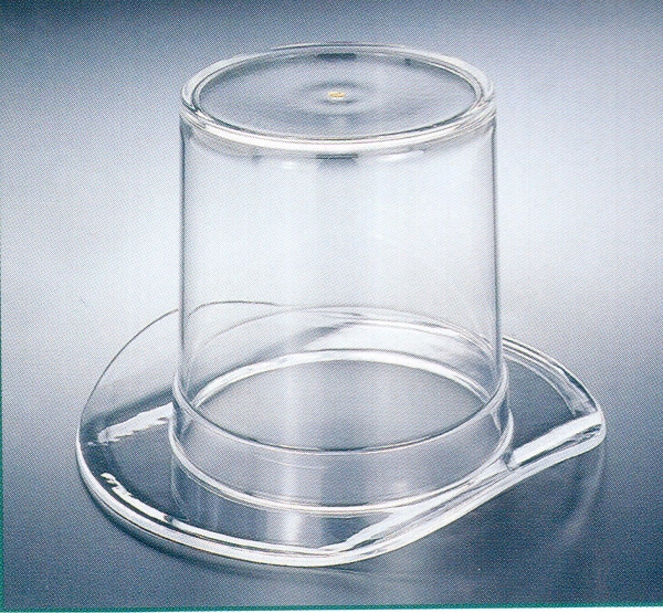 Clear Top Hat Candy Dish - 12ct