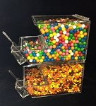 8 Inch Wide Stackable Topping Bin