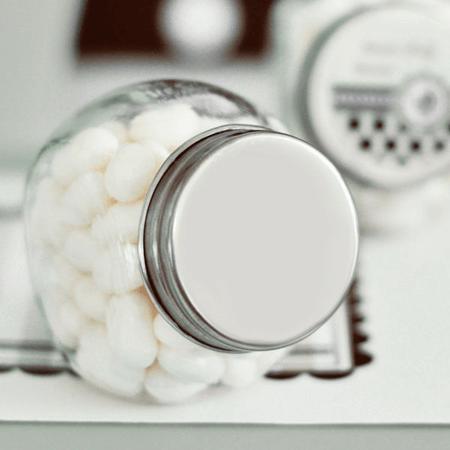 DIY Glass Candy Jars -  24ct