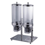 Double Acrylic / Stainless Steel  Dispenser