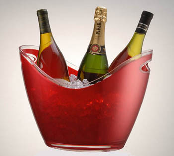 Wine Gondola Bucket Acrylic Ice Buckets Beverage Tubs
