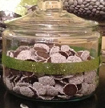 Glass Candy Jars / Canisters