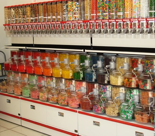 Acrylic Scoop Bins Bulk Candy Bins Acrylic Bins