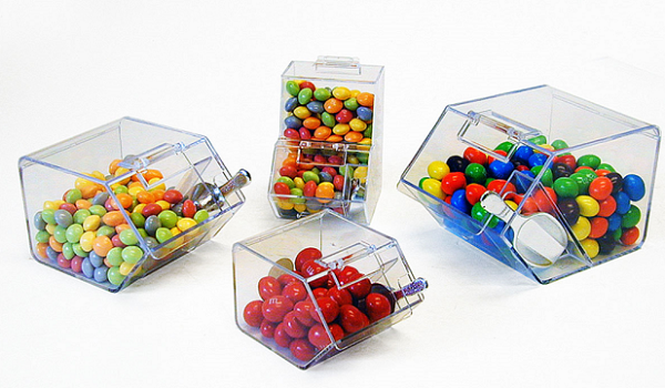 Small Candy Containers collection