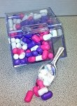 5.5oz Mini Candy Bin - 24ct