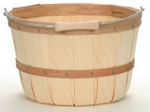 1 Peck Natural Basket - Color Choices - 12ct
