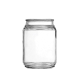16 oz Patio Glass Jars - 12ct