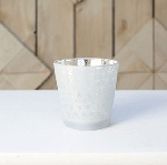 Pearl Star Candle Holder 3in