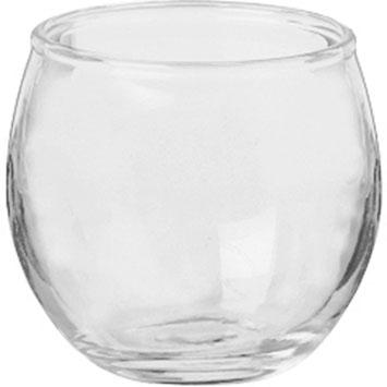 Roly Poly Glass Jars - 12ct