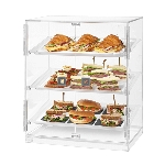 Small 2 Door Bakery Cabinet w/ 3 Trays
