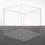 Square Acrylic Display Bin - 10in