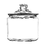 1/2 Gallon Heritage Hill Jars & Lids - 2ct