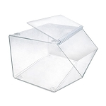 Acrylic Display Bin w/ Lift-Open Door 16