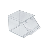 Acrylic Candy Bin w/ Magnetic Lid 1 Gallon